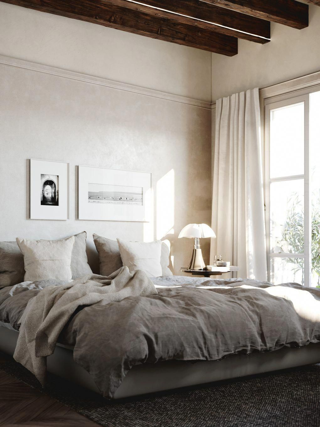 Window side bed  a highlycurated interior where scandinavian functionalism and