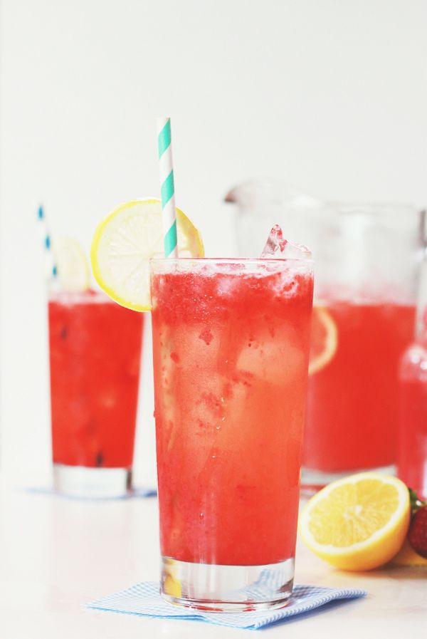 roasted strawberry lemonade.