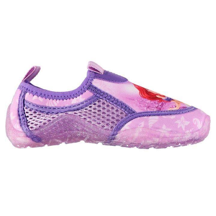 181c2a77dbe333 Girls Disney Little Mermaid Ariel Water Shoes