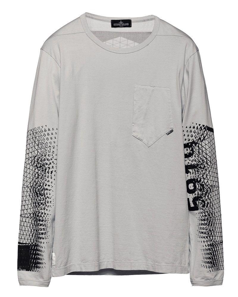 2a79b1ef 20213 PRINTED LS T-SHIRT_CATCH POCKET T_JERSEY MAKO Long-sleeve T-shirt in