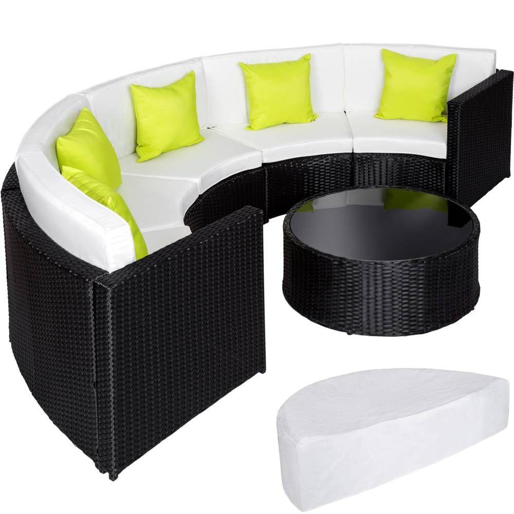 Rattan Lounge Mit Aluminiumgestell Inkl Schutzhulle Halbrund Versandkostenfrei Ab 321 99 Bei Tectake Bestellen Rechnu Mobelideen Mobel Kaufen Wolle Kaufen