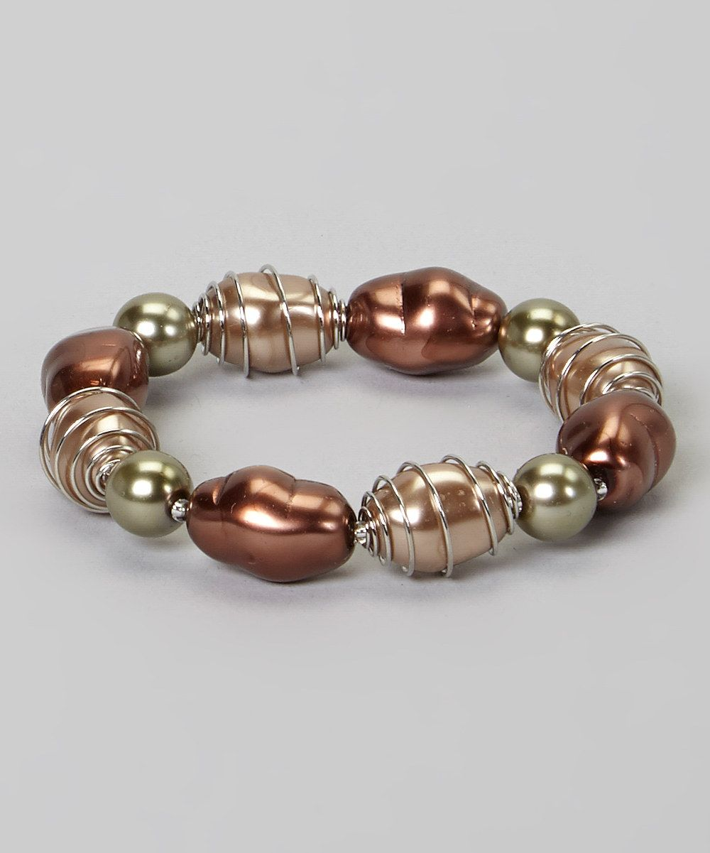 Another great find on #zulily! Rose Gold Hot-Wire My Heart Stretch ...