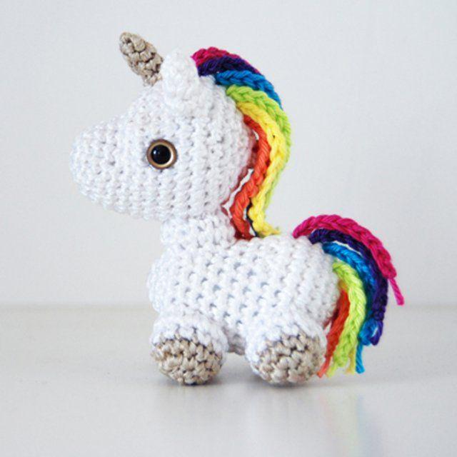 Amigurumi 12 Jouets à Faire En Crochet Bébé Licorne
