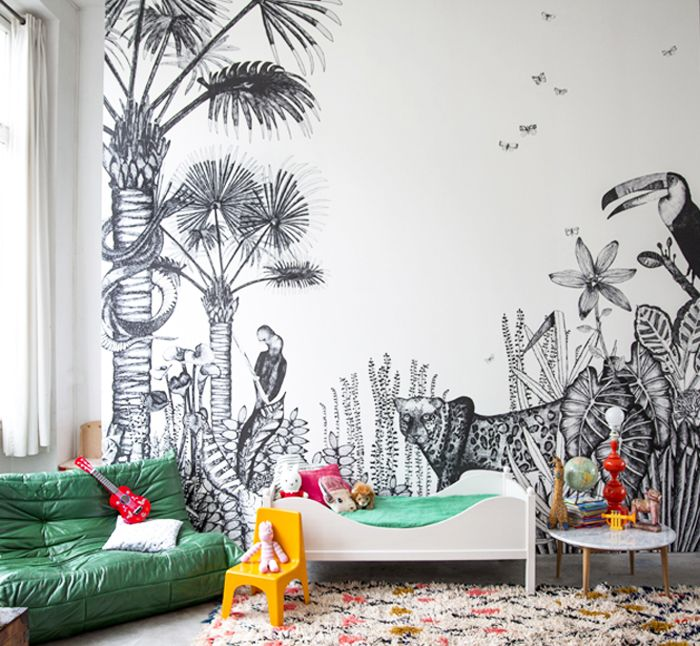 bohemian style inspiring kids rooms Where the Wild Things Are