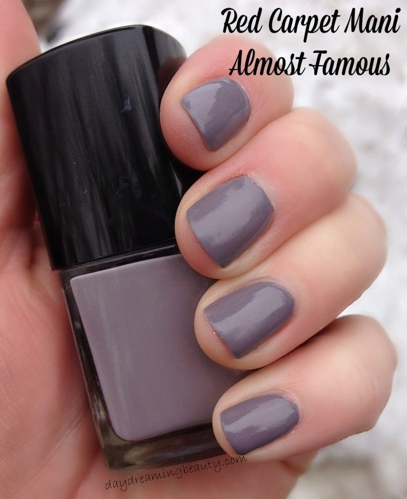 Red Carpet Manicure Almost Famous Nail Lacquer | daydreamingbeauty ...