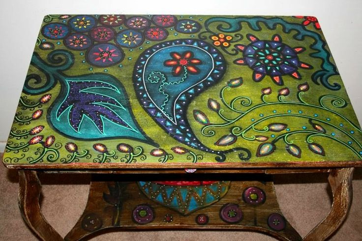 superb painted table top Part - 3: superb painted table top amazing design