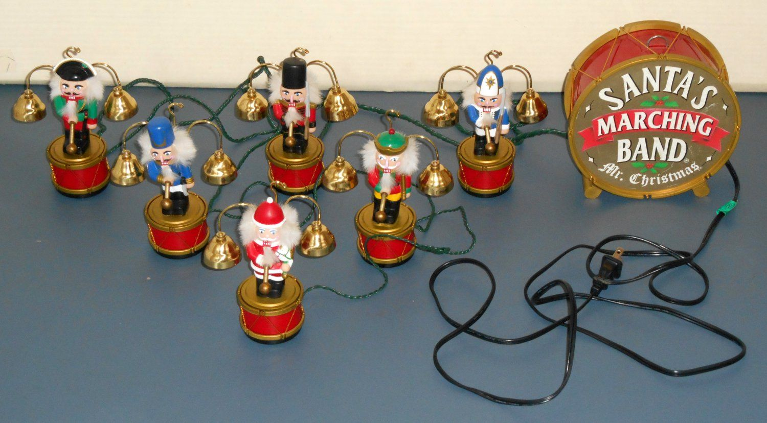 For Sale Mr Christmas Santa S Marching Band Animated