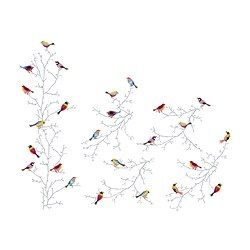Ikea Bird Stickers SLÄTTHULT Decoration Stickers IKEA With Decoration  Stickers Itu0026apos;s Easy For You To Renew A Room Without Painting Or  Wallpapering.