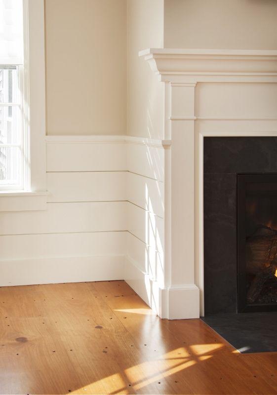 Paint Colors Wainscot Detail Wood Floor