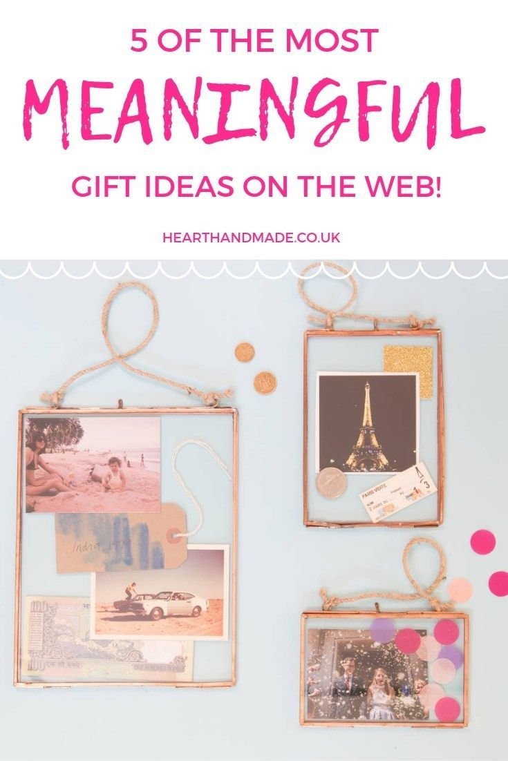 5 Of The Most Meaningful DIY Gift Ideas On The Webs! - Gift Ideas