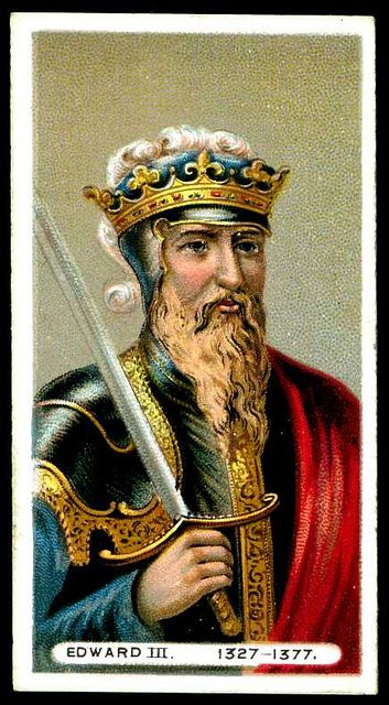 Edward III of England   Edward III, King of England (1327 - 1377)