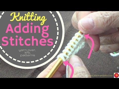 Add stitches to knitting kfb knit front and back yarn over how add stitches to knitting kfb knit front and back ccuart Image collections