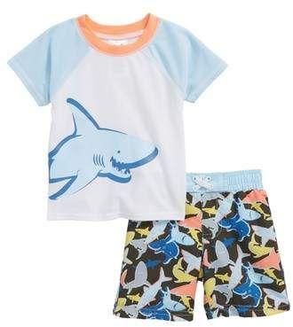 Sol Swim Baby Boys Shark Swim Trunk