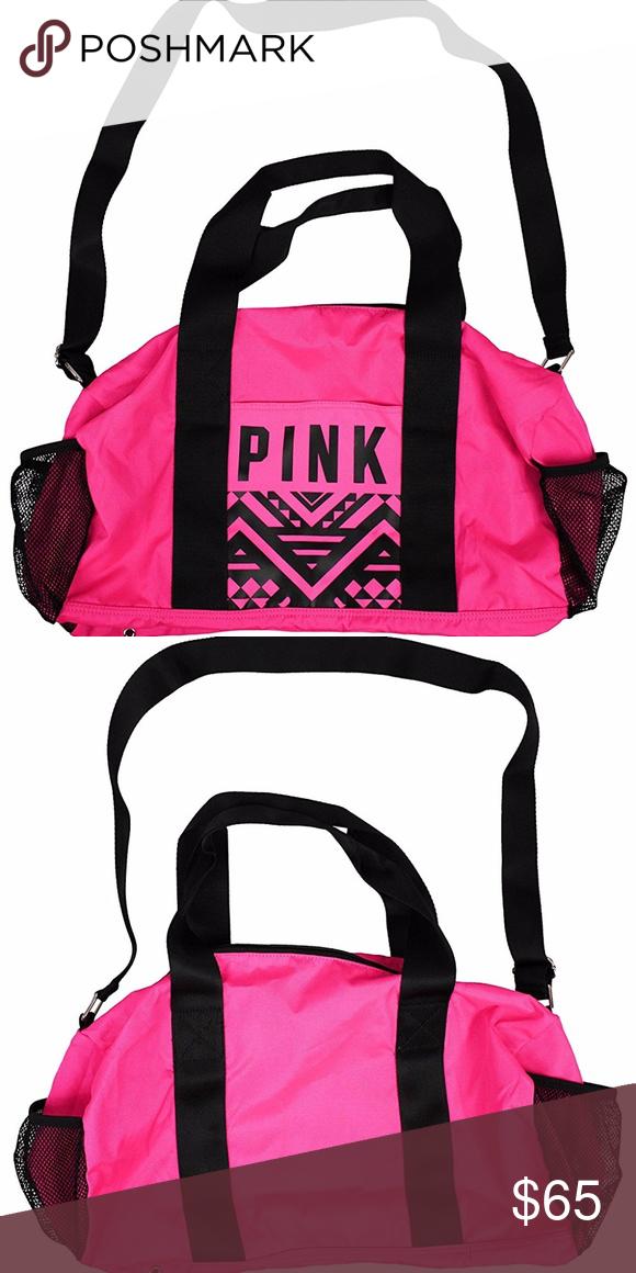 d51006ff3d26 Victoria s Secret PINK Magenta Pink Gym Duffle Bag 🌺Victoria s Secret PINK  Magenta Pink Gym Duffle Bag🌺 Perfect for the Gym! Medium Gym Bag Exclusive  ...