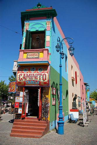 Tango Argentina Travel Around The World Colourful Buildings