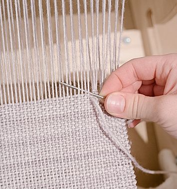 Cleo Malone How To Weave Weaving Weaving Patterns Weaving Tutorial