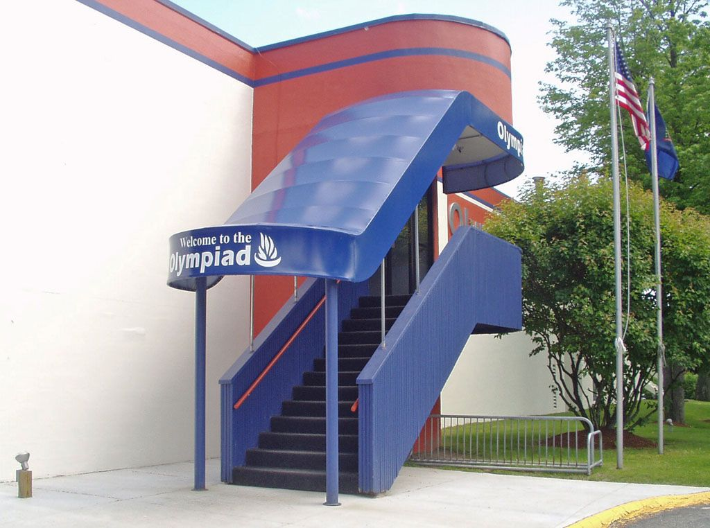 Commercial Awnings Portfolio Outdoor Stairs Custom Awnings