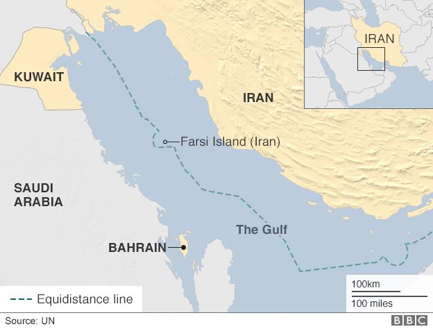 US Commander Demoted Over Iran Incident Politics - Us territorial waters map