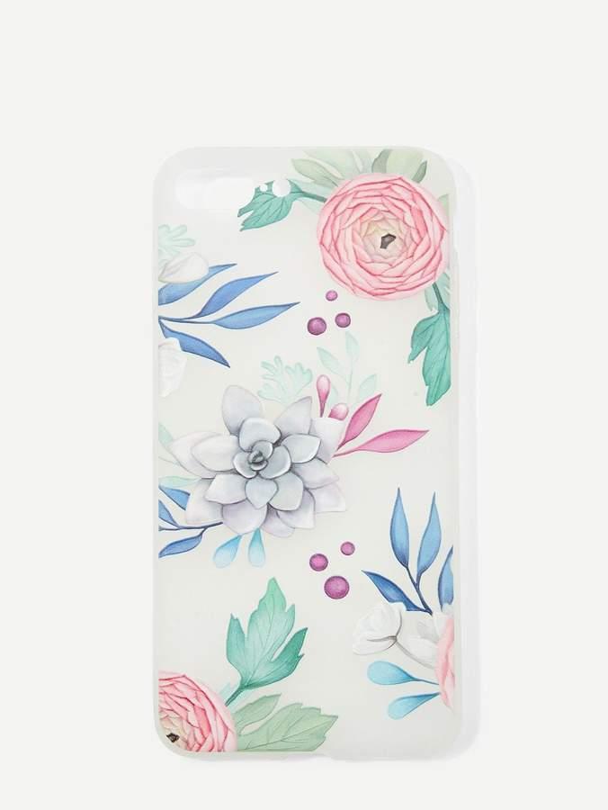 65dbb53e54 Shein Flower Print iPhone Case. Visit. March 2019