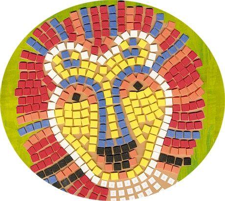 Resultado De Imagen De Mosaicos Para Ninos Mosaic Patterns Roman Mosaic Mosaic