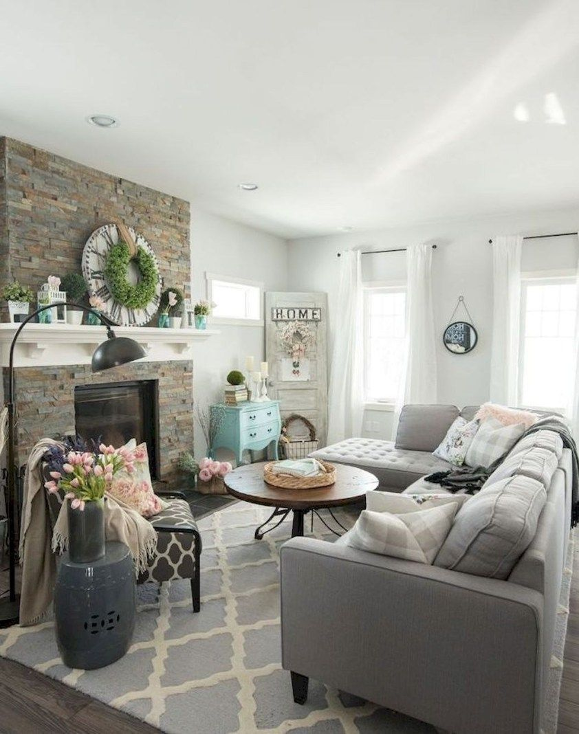 45 Perfect French Country Living Room Design Ideas Country