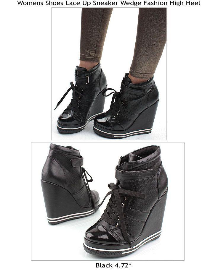 love sporty heel shoes | Get On My Feet.. | Pinterest | High heel ...