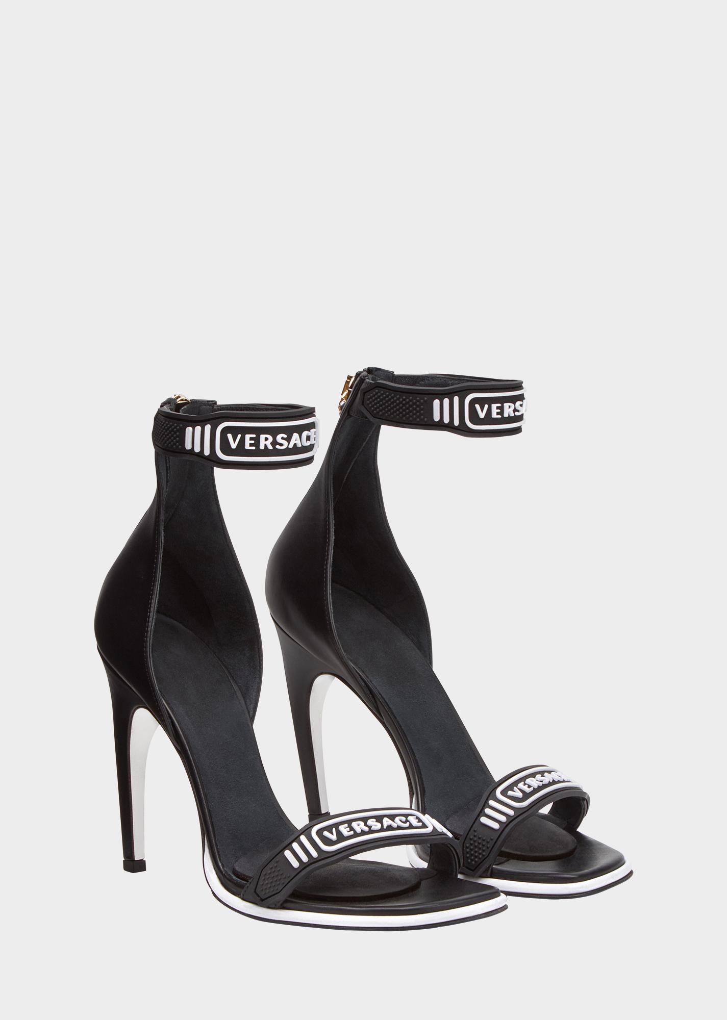 Versace Spartiates Logo - Noir EYAvv4BcU