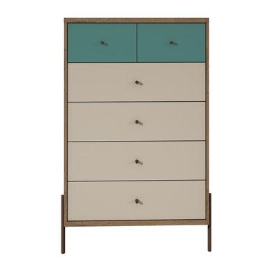 Hashtag Home Alviso 6 Drawer Chest In 2020 Tall Dresser Modern Dresser Drawers