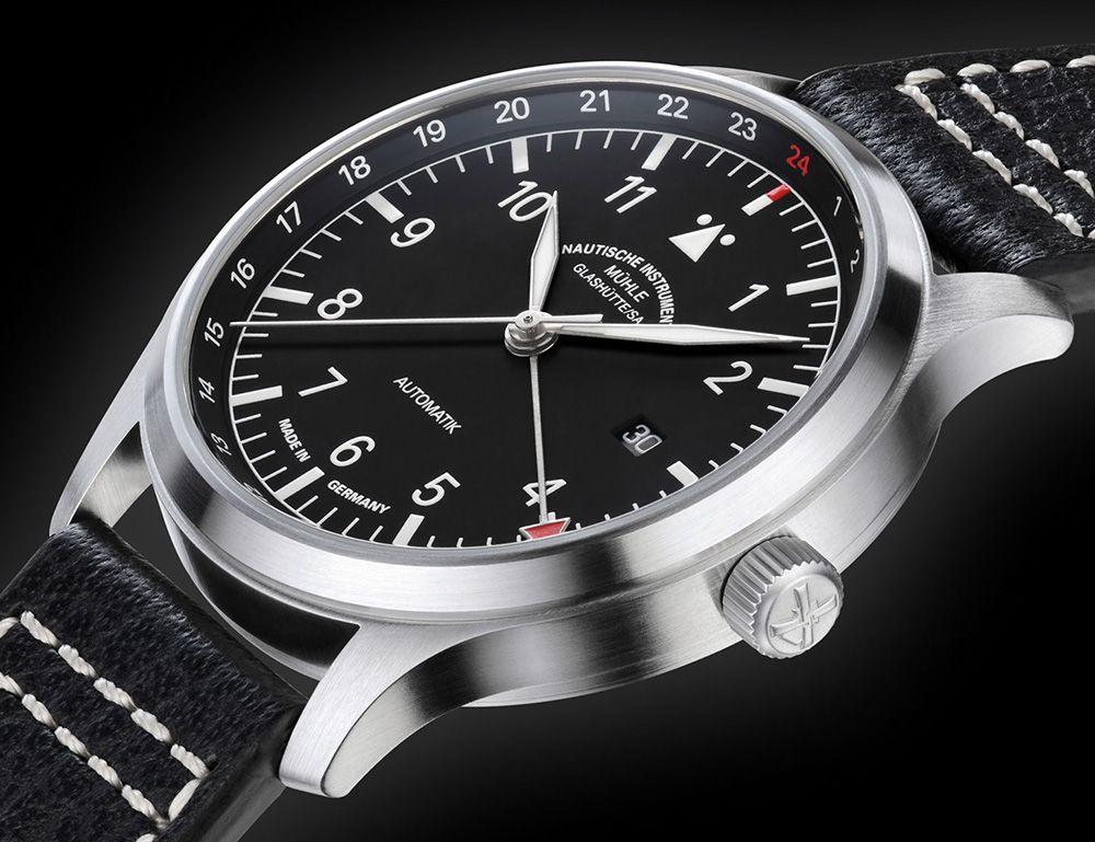 Mühle-Glashütte Terrasport IV GMT Watch - by Dhananjay Pathak - küchenfronten neu beschichten