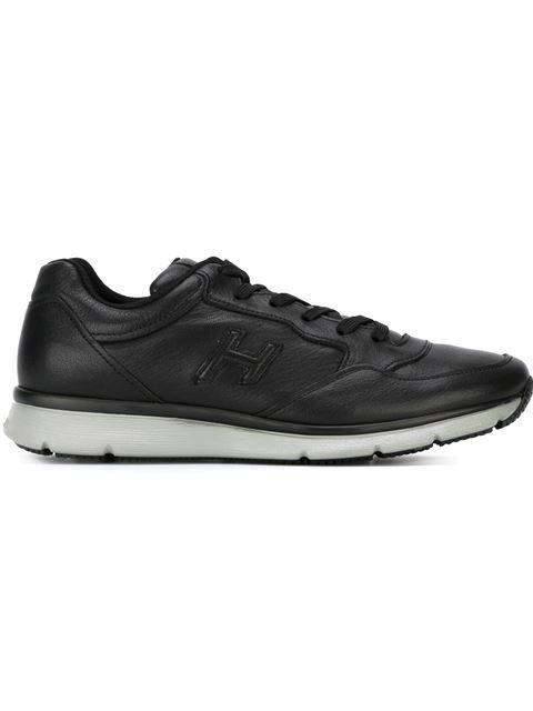 HOGAN Embossed Logo Sneakers. #hogan #shoes #sneakers