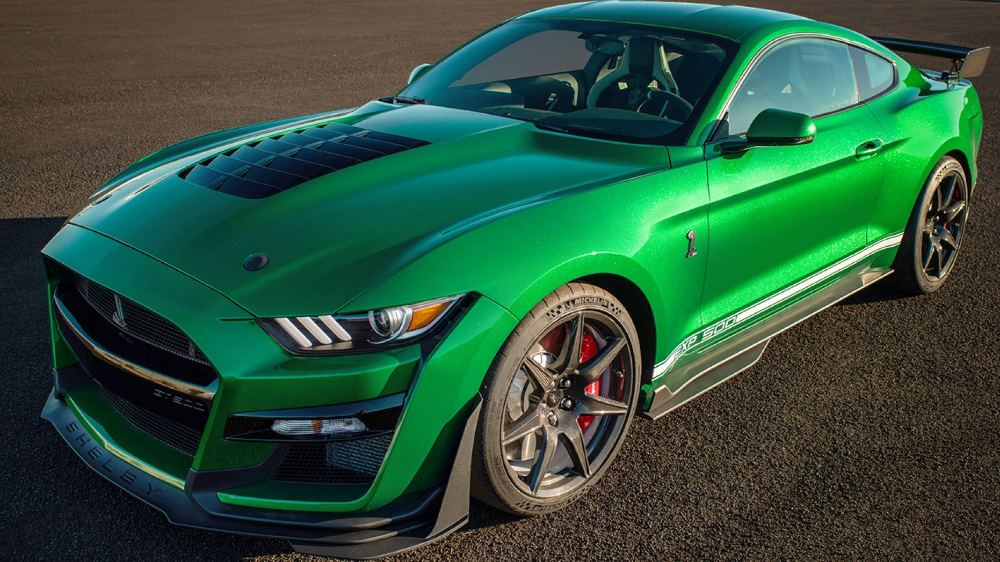 1 1 Million 2020 Ford Mustang Shelby Gt500 Is Very Green Machine In 2020 Ford Mustang Shelby Gt500 Ford Mustang Shelby Mustang Shelby
