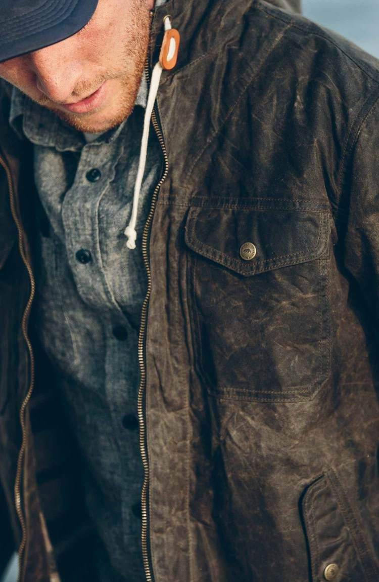 28a193bd97a Taylor Stitch / The Winslow Parka in Olive | My capsule wardrobe ...