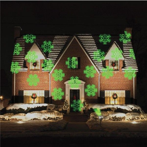 The Indoor Outdoor Christmas Lightshow Laser Projector Lets You Be As Animated As You Want With Its Outdoor Christmas Christmas Lights Outdoor Christmas Lights