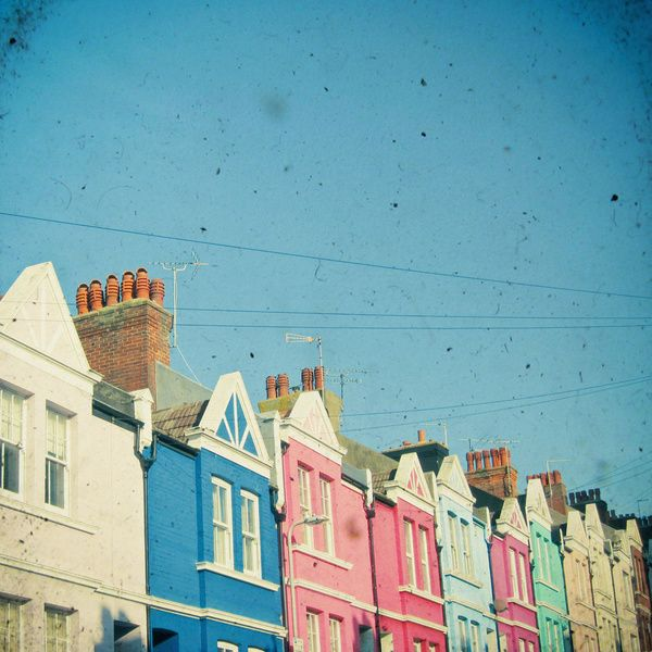 Rainbow Street Art Print by Cassia Beck | Society6
