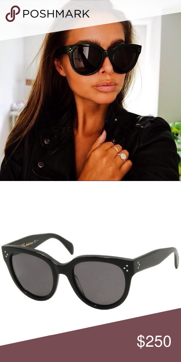 a9ffb35039640 classic CELINE Audrey sunglasses CL 41755 Will have photos up when it s  light out again.