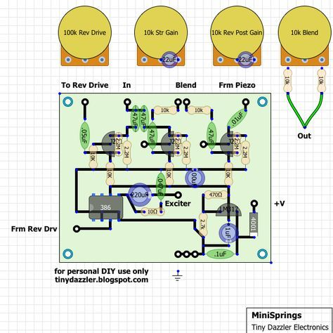 Org Distortion Pedal Circuit For Guitar Effects Pcb Schematic - Home on