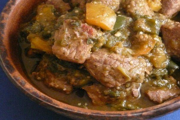 Pork Chili Verde. Photo by cookiedog