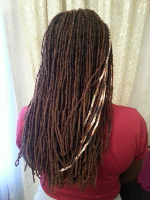 Interlocked Dreads For Olivia Natural Hair Styles
