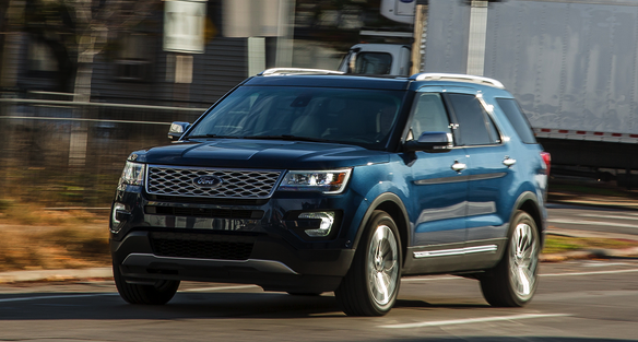 2020 Ford Explorer Platinum Redesign Review New Car Rumor