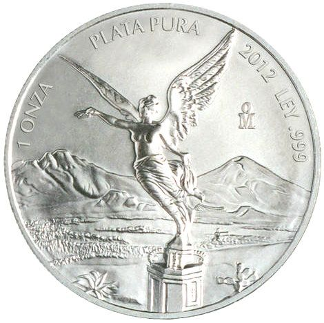2012 Mexican One Ounce Silver Libertad - MintProducts.com - Beautiful coin from Mexico!