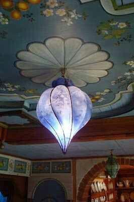 Beautiful Chandelier Blue Art Art
