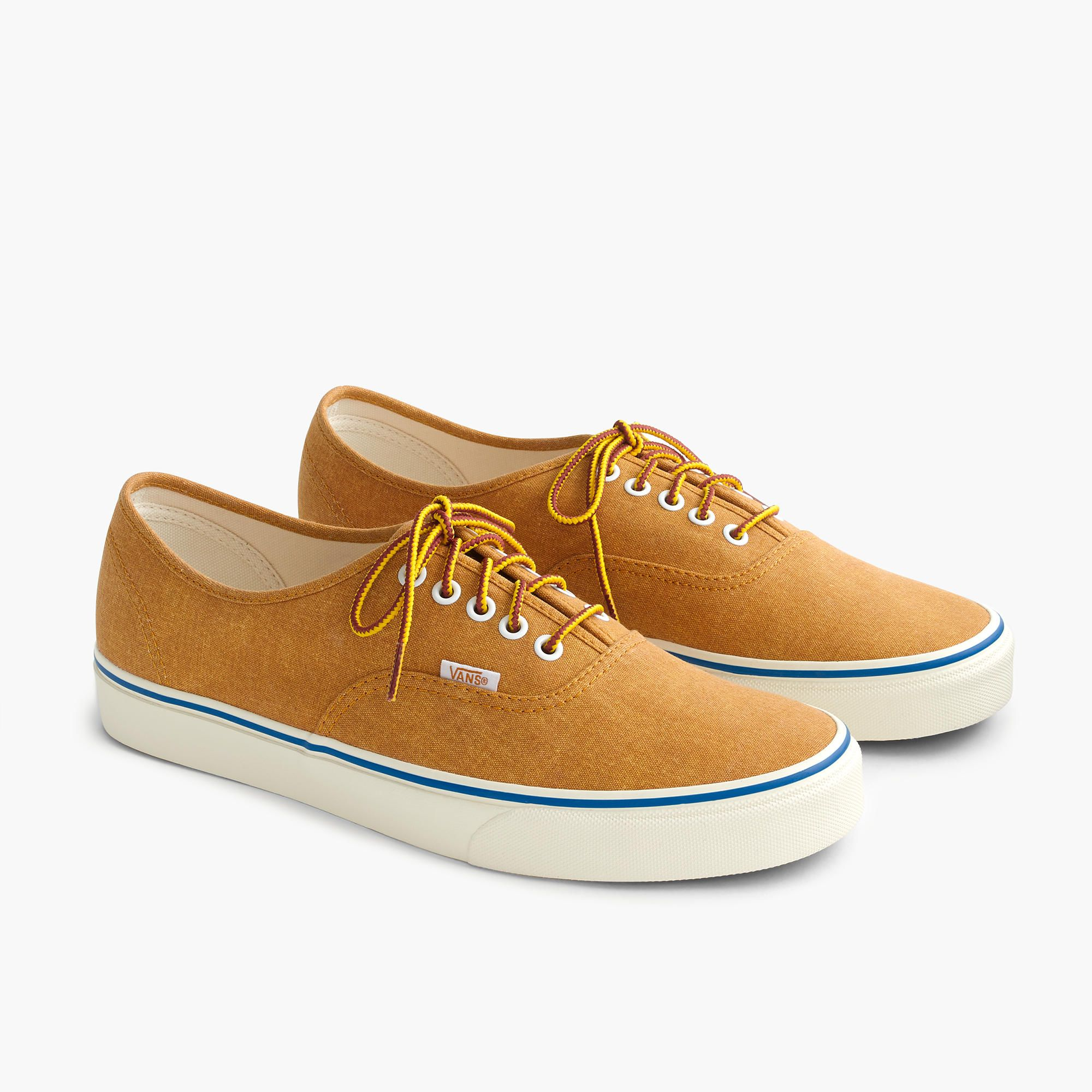 a2ad4b2e0062 Vans® for J.Crew washed canvas authentic sneakers