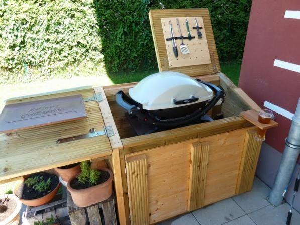 die obi selbstbauanleitungen grillstation spa diy und diy und selbermachen. Black Bedroom Furniture Sets. Home Design Ideas