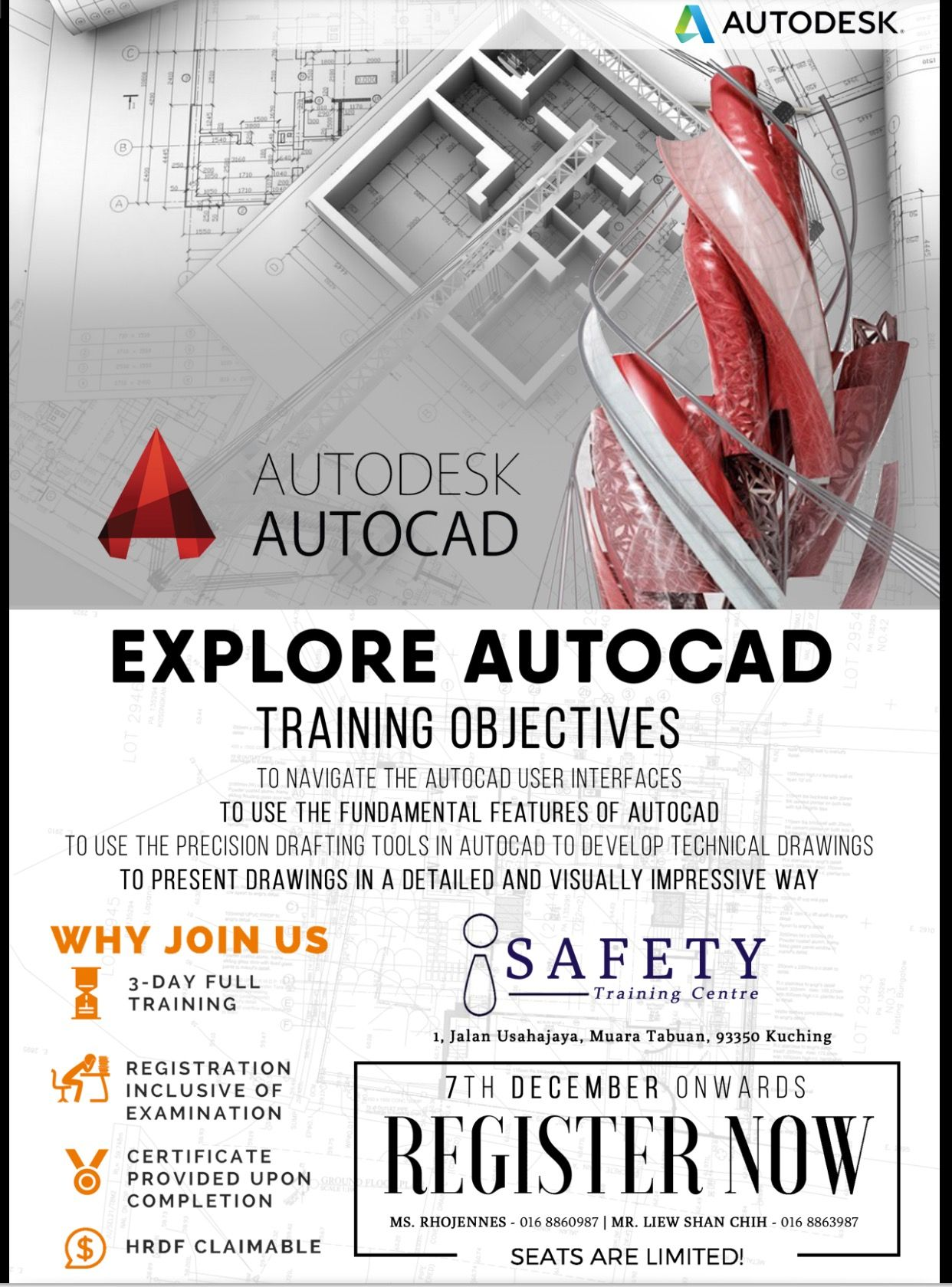 Autocad 2d training certified by autodesk explore master certified by autodesk explore master autocad training objectives to navigate the autocad user interfaces to use the fundamental feature of autocad to 1betcityfo Image collections