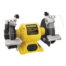 Shop Dewalt 8 In Bench Grinder At Lowe S Bench Grinder Dewalt Tools Dewalt Power Tools