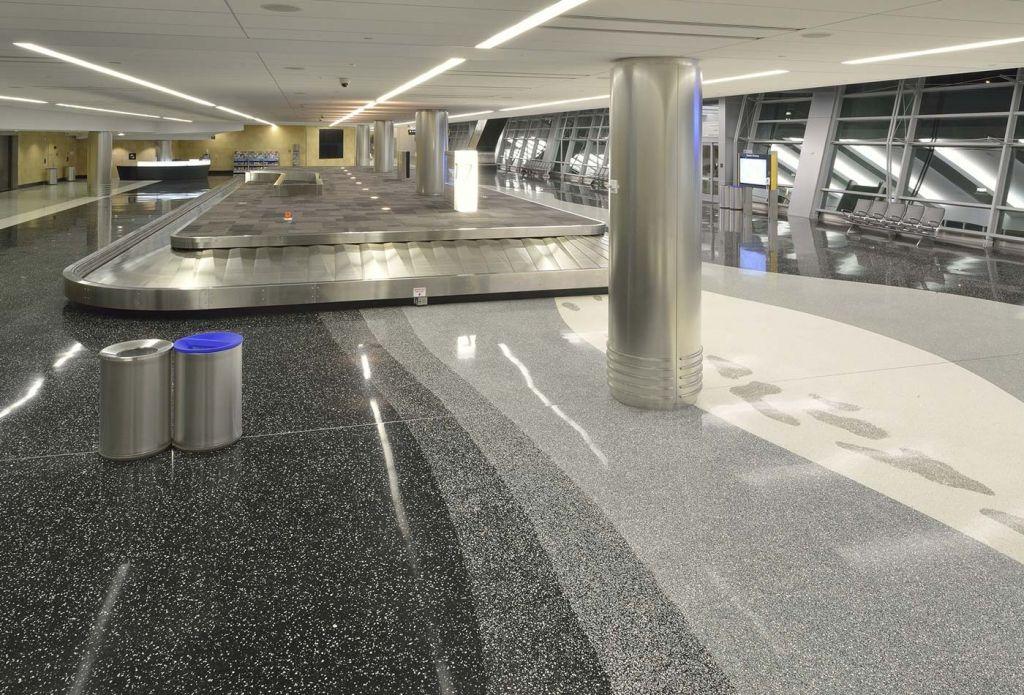 San Diego Airport Terminal 2 In 2019 Terrazzo Flooring