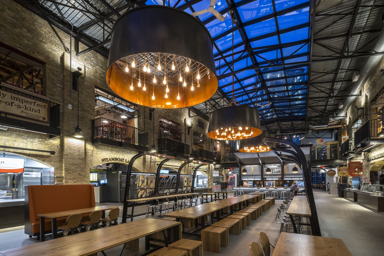 Sofa Cafe Faria Lima Gallery Of The Forks Market Food Hall Number Ten Architectural
