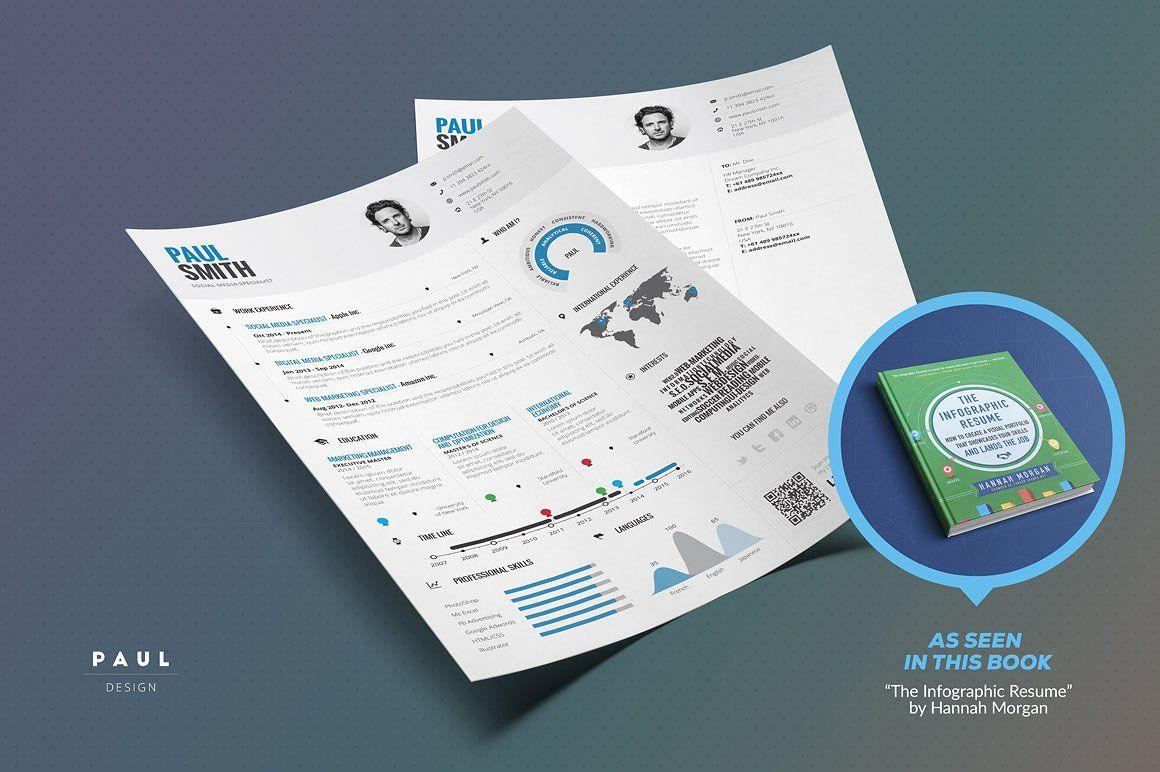 Infographic Resume/Cv Template Vol.1