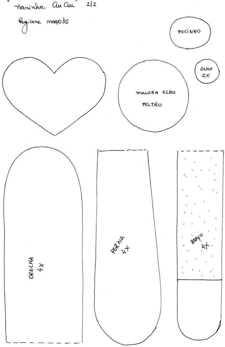 Pin de Daniela en Natal /feltro e tecidos | Pinterest | Molde ...