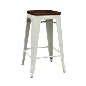 Incredible White Walnut Paris Counter Stool Furniture Faves Bar Gmtry Best Dining Table And Chair Ideas Images Gmtryco
